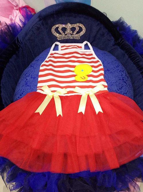 Платье Цыпленок