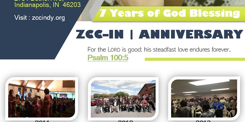 ZCC-IN Anniversary (7 Years)