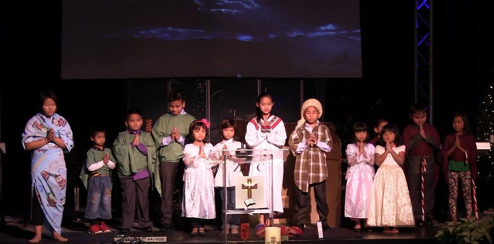 Sunday School Kristmas Drama
