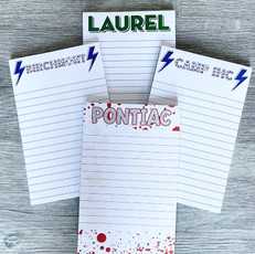Camp Name Stationery