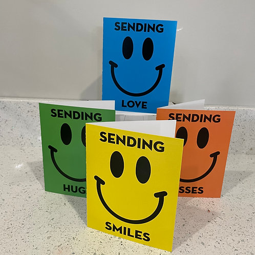 HAPPY Folded Note Card Pack