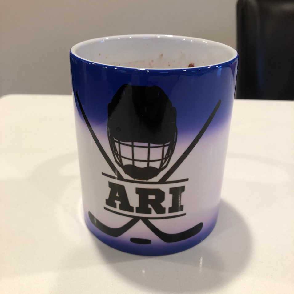 Color Changing Mugs - After