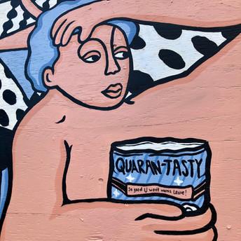 Comet Tavern Quaran-tasty Mural