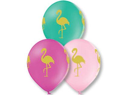 Balloon/flamimgo print