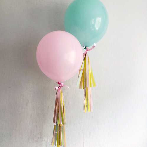 50 cm balloon with tassel