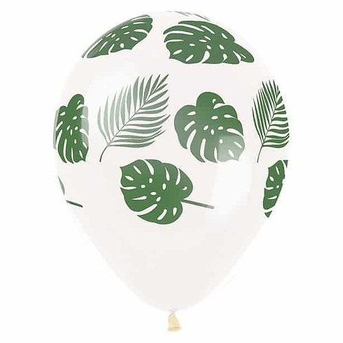 Balloon/ leaves print