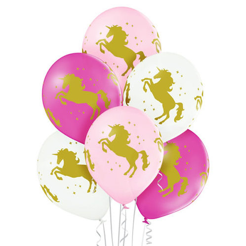 Balloon/Unicorm print
