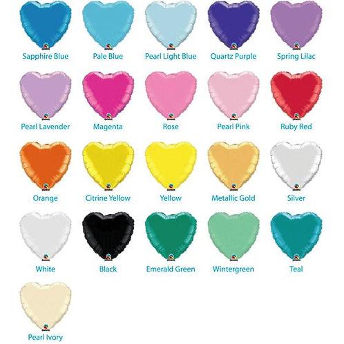 HEART 46 cm (dažādas krāsas)