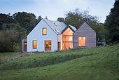 Modern/Contemporary Triple Glazed Alu Clad Wooden Windows