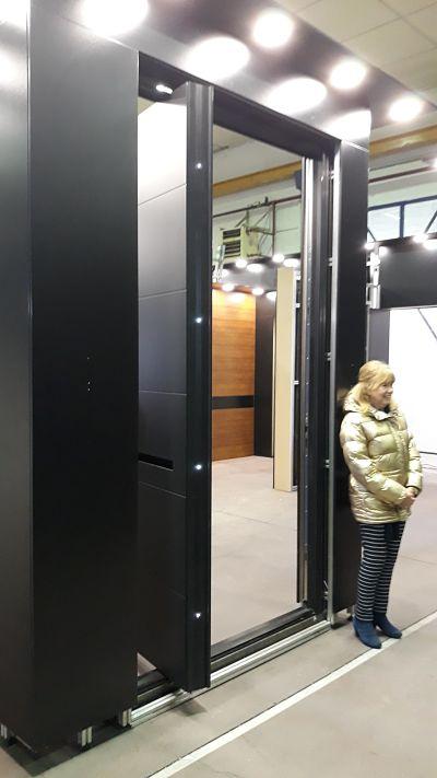 Huge Pivot Door