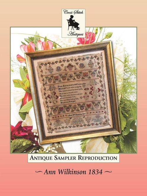 Ann Wilkinson 1834 - Cross Stitch Antiques