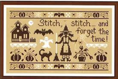 Stitch, Stitch and forget the time