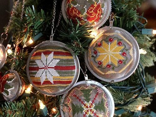 Tea Ball Ornament Set