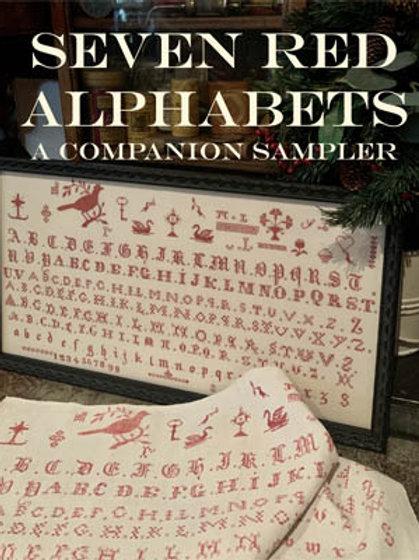 Seven Red Alphabets
