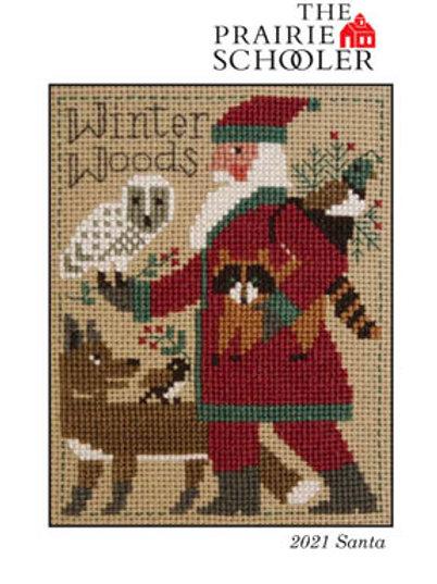Prairie Schooler Santa 2021