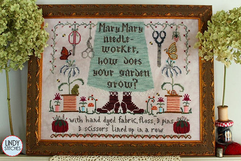Mary Mary Needleworker - Lindy Stitches