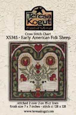 Early American Folk Art Sheep