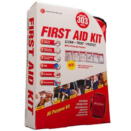 First Aid 303 Piece Kit