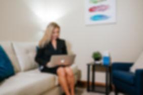 Lenka in her office.jpg