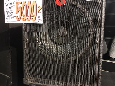 Beg Elbashögtalare Euphonic Audio Wizzy12 4 ohm 5999:-