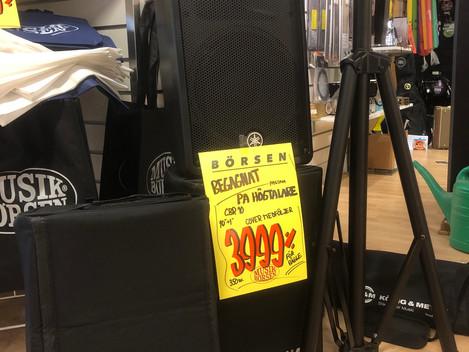 Yamaha PA-högtalare CBR10 3999:-