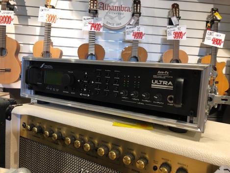 Fractal Audio Axe-FX Ultra med Thon case! 4999:- SÅLD!