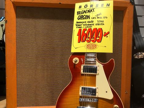 Gibson Les Paul Standard 2015 16999:-