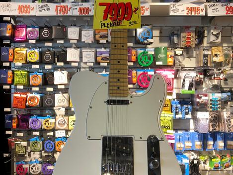 Fender Player Telecaster MIM 7999:-