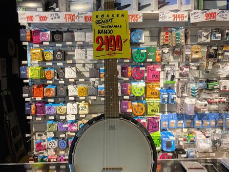 Tennesse banjo 2.199:- Såld!