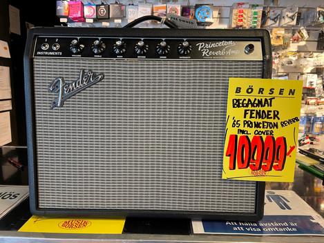 Fender 65 Princeton Reverb 10.999:- SÅLD!