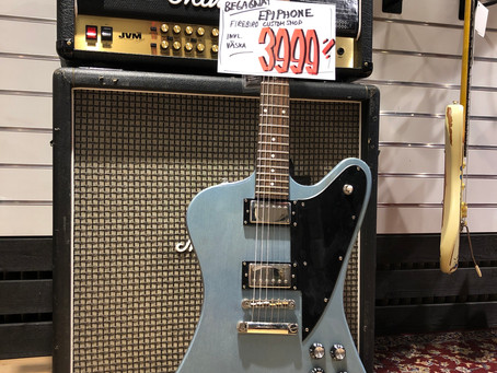 Elgitarr Epiphone Custom Shop Limited Edition Firebird 3999:- SÅLD!