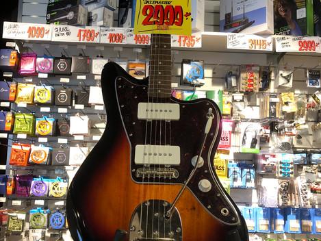 Squier Jazzmaster 2999:- SÅLD!