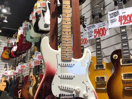 Fender Stratocaster MIM 2017 4999:- SÅLD!