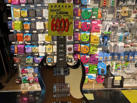 Gibson SG Special elgitarr  6.999:- SÅLD!