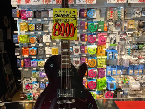 Gibson Les Paul Studio 8.999:-