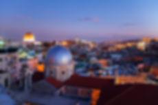 Zicht over Jeruzalem