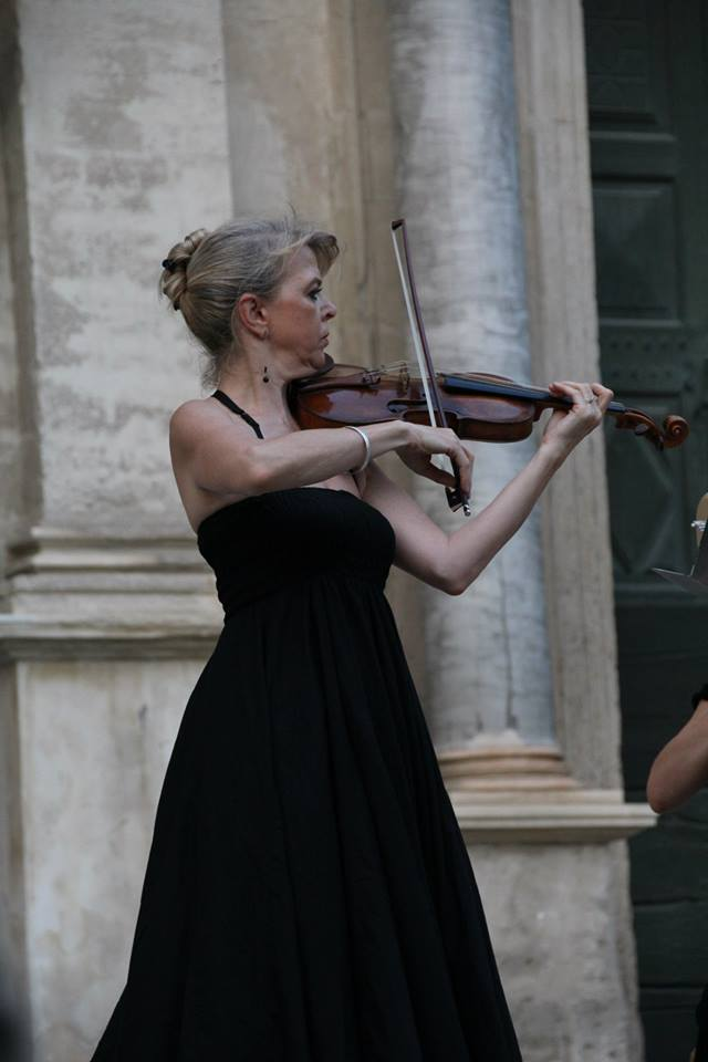 Cordelia Palm, violon solo