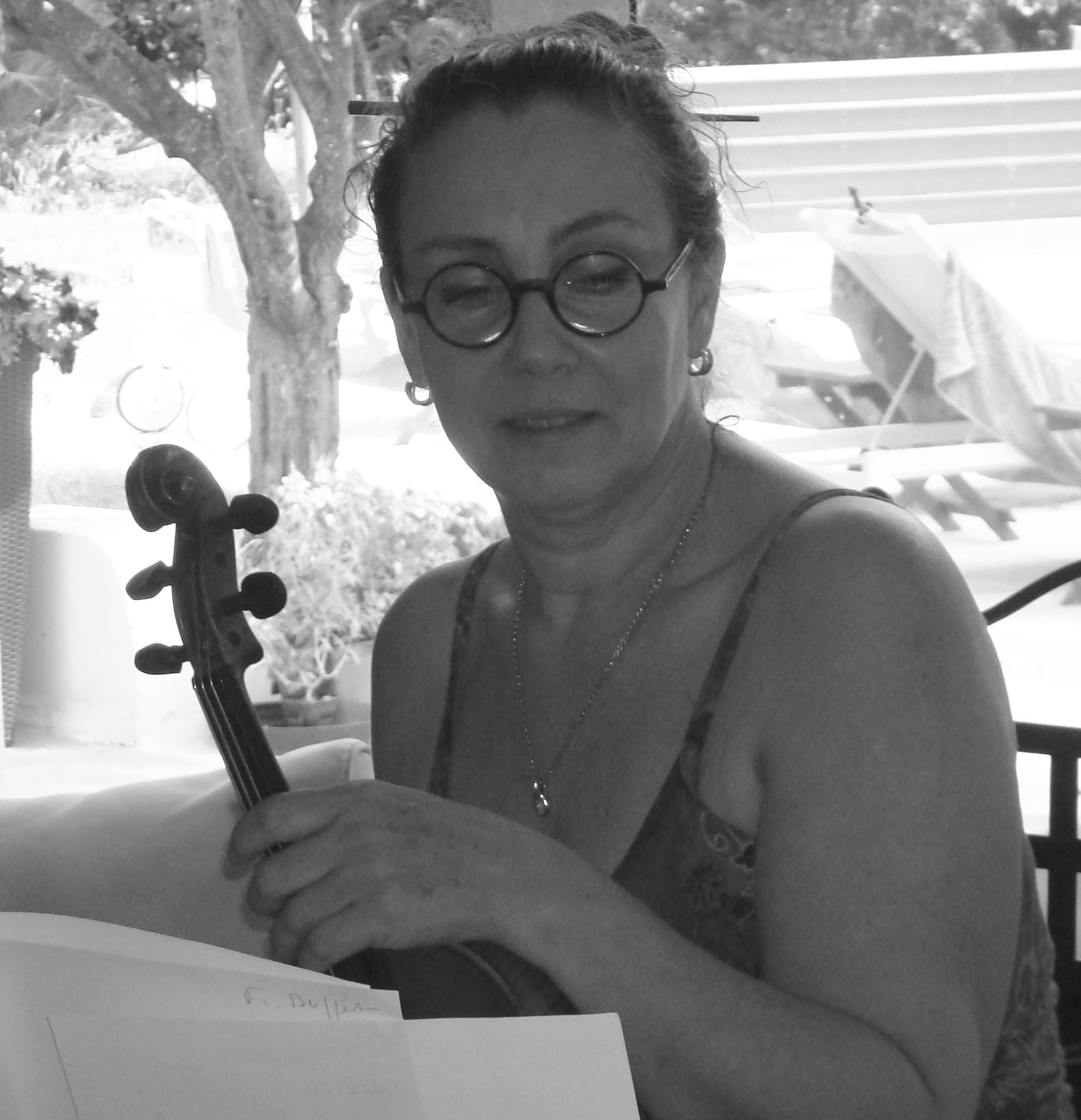 Claire Charlier, second violon