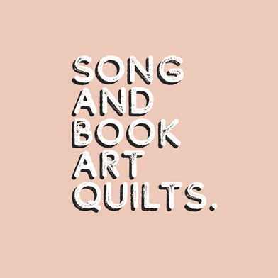 Song and Book Art Quilts