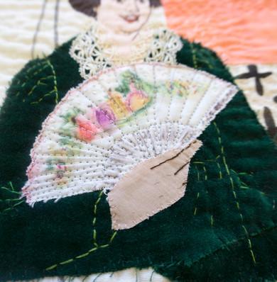 Detail of A Fan
