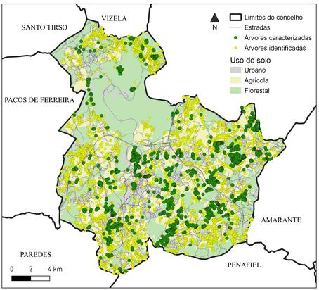 Mais de 7400 árvores identificadas até agora!