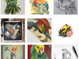 Artwork For Aves Fundraiser!