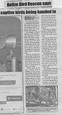 Reporter Newspaper - Captive parrot registration programme