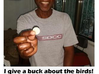 John gives a buck!
