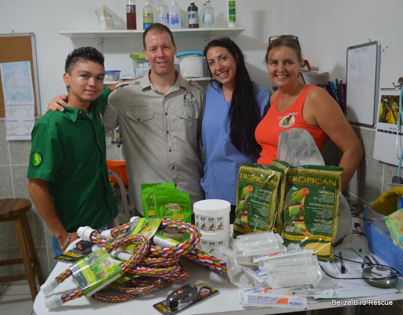 Hari (Hagen Foods) donation with Marc-Andre Villeneuve