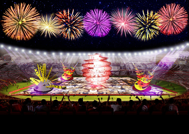Inauguração Estádio Beira Rio