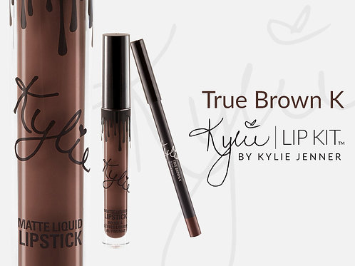 #Kylie LipKit | True Brown K