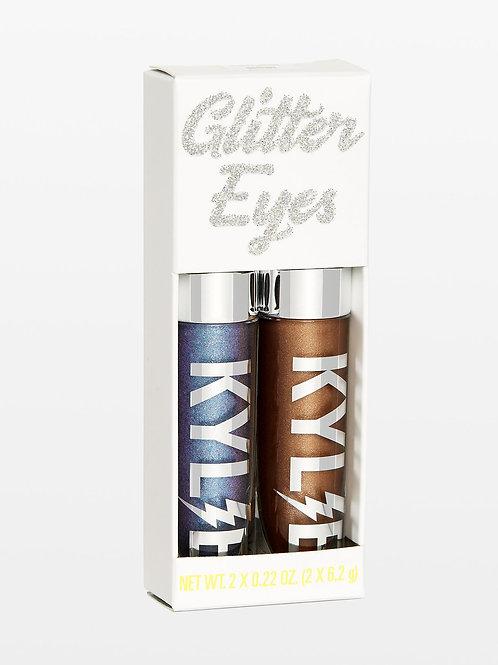 #Kylie Glitter Eyes |Violet Moon + Destiny