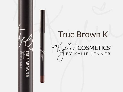 #Kylie Lip Liner by Kylie Jenner | True Brown K