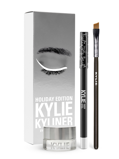 #Kylie Holiday Edition Kyliner Kit | Snow